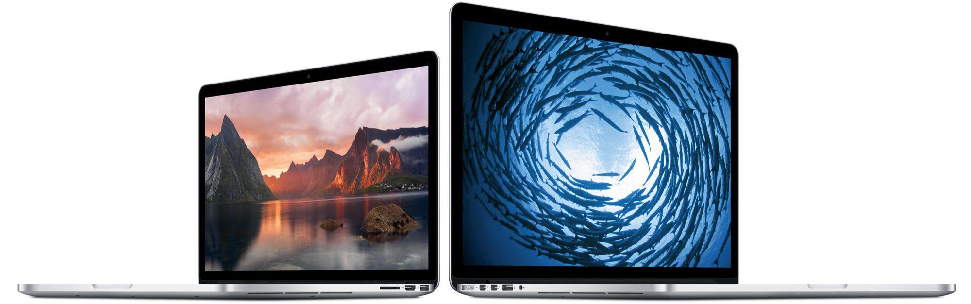 Retina kijelzős MacBook Pro