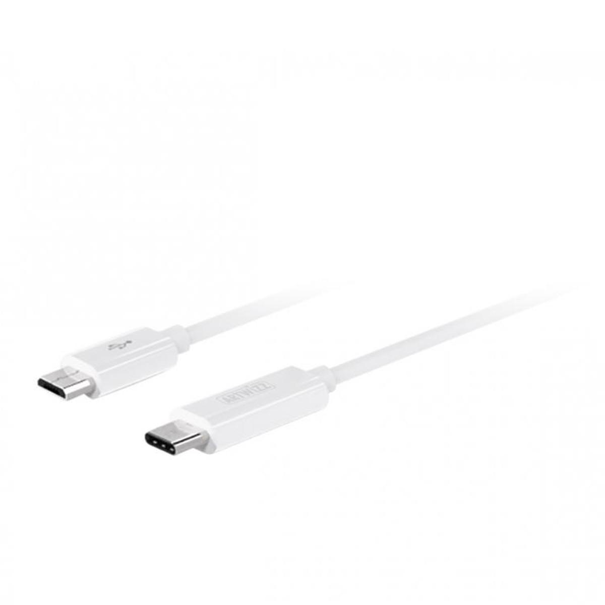 Artwizz USB-C to Micro USB male kabel 1m