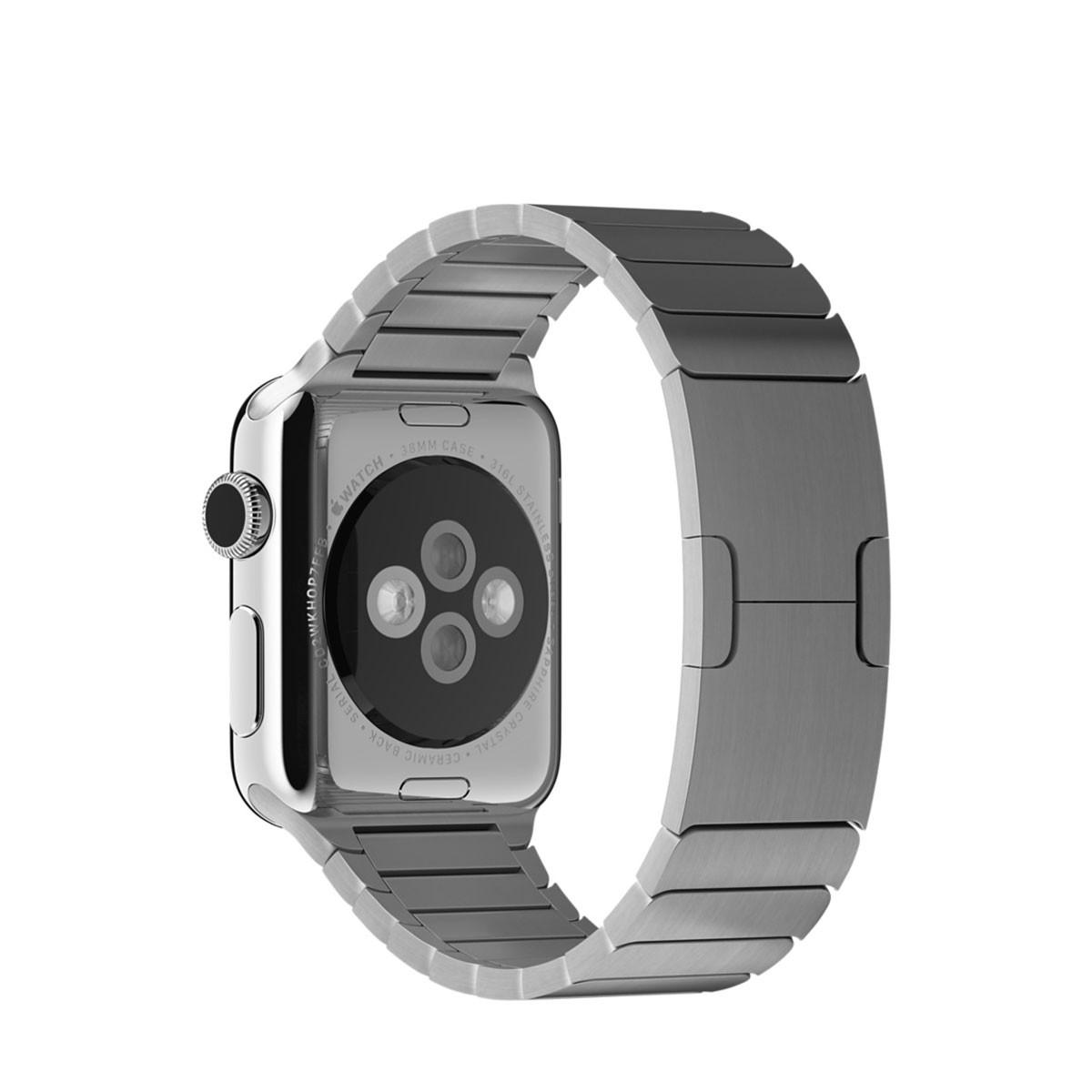 Apple 38 mm Link Bracelet - Srebrna