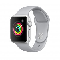Apple Watch Series 3 - Silver Aluminum Case with Fog Sport Band