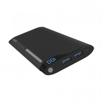 Cygnett ChargeUp Digital 10000 Portable Powerbank - Crna