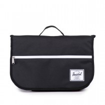 Herschel Pop Quiz Messenger - Crna