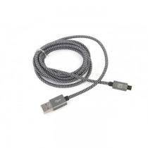 Tucano Cotone Alu Lightning kabel, 200cm - Crna