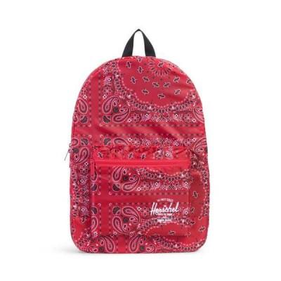 Herschel Daypack Backpack Red Bandana