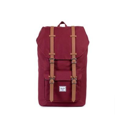 Herschel Little America™ Backpack (Tan Synthetic Leather)