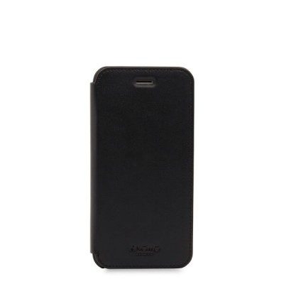 (EOL) Knomo Leather Folio for iPhone 7/8 - Black