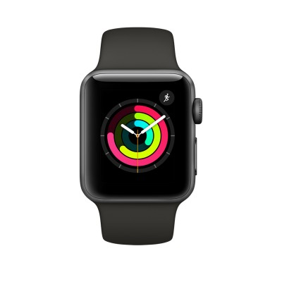 Apple Watch Series 3 GPS Space Gray Aluminium Case with Gray Sport Band