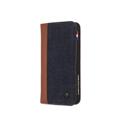 Decoded Leather Wallet Case for iPhone 5/5s/SE (Denim)