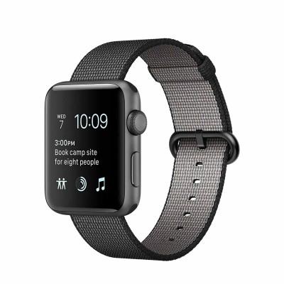 Apple Watch Series 2 Aluminium Case with Woven Nylon Band