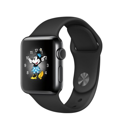 Apple Watch Series 2 Stainless Steel Case with Sport Band Space Black