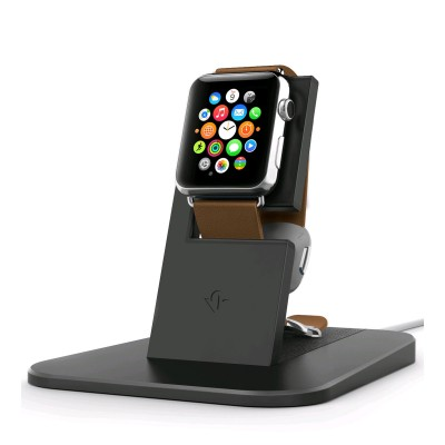 TwelveSouth HiRise Stand for Apple Watch - Black
