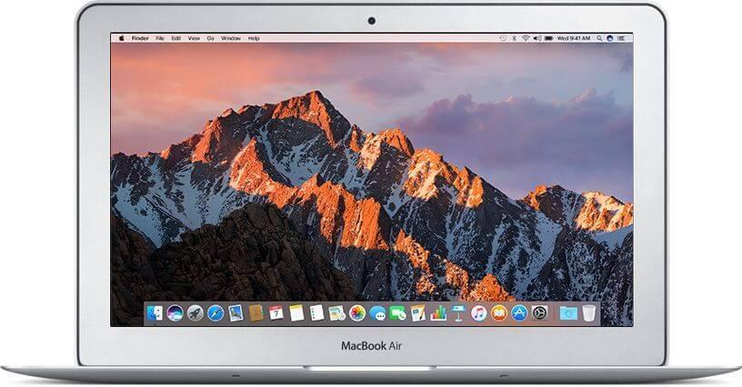 MacBook Air 11-inch 1.6GHz, 4GB, 256GB SSD