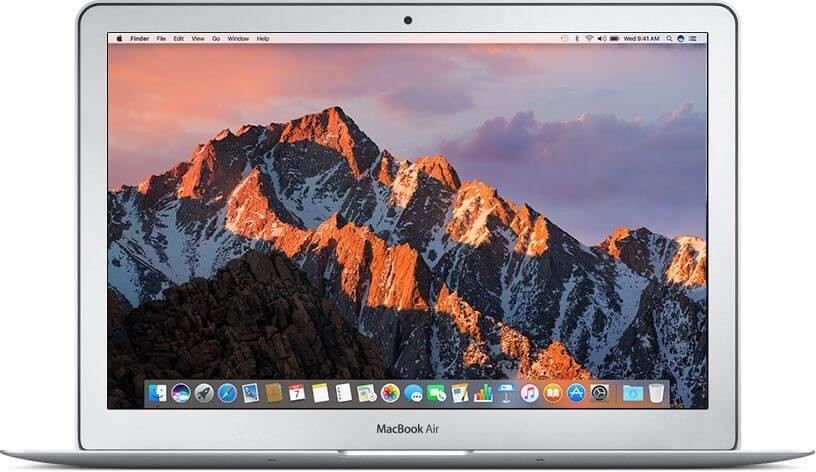 MacBook Air 13-inch 1.6GHz, 8GB, 128GB SSD