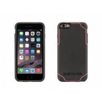 (EOL) Griffin Survivor Journey for iPhone 6 Plus/6s Plus - Deep Grey/Fluoro Pink