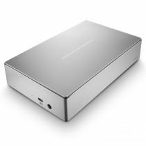 Lacie Porsche Design USB-3 (with USB-C adapter) (4TB) - Silver