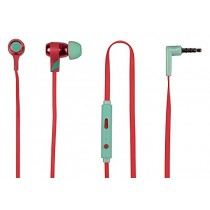 Tribe Vespa Swing Earphones - Berry