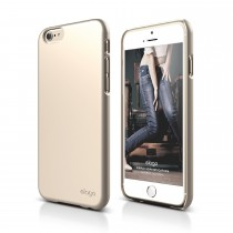 Elago -S6 SLIM FIT 2 case for iPhone 6/6s - Champagne Gold