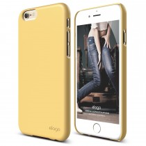 Elago S6 SLIM FIT 2 case for iPhone 6/6s - Creamy Yellow