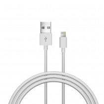 Just Wireless Lightning Cable (1.5m) - White