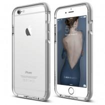 Elago Aluminium Bumper for iPhone 6/6s - Transparent/Silver