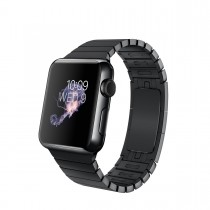 Apple Watch Space Black Stainless Steel Case with Space Black Link Bracelet (38mm)