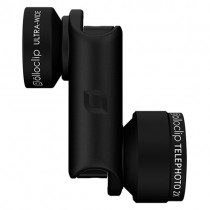 OlloClip Telephoto + Ultra-wide for iPhone 6/ 6 Plus - Black
