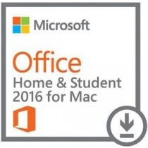 Microsoft Office Mac Home Student 2016 (all languages/1xMac /Online/ESD)