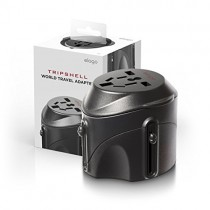 Tripshell International All-in-One Travel Plug Adapter