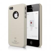 Elago - S4 SLIMFIT case for iPhone 4/4s - Soft Coconut