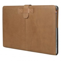 Decoded Leather Slim Cover for MacBook Pro 15inch Retina - Brown