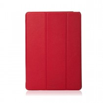 Knomo Leather Folio moulded case for iPad Air 2 - Scarlet