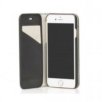 Knomo PREMIUM Leather Folio iPhone 6 - Black