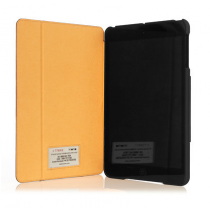 Knomo iPad Air Folio with moulded case - Brown