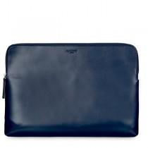 "Knomo Laptop Leather Zip Sleeve for MacBook Pro 15"""