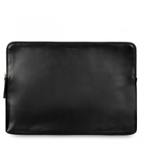 Knomo Laptop Leather Zip Sleeve for MacBook Pro 15""