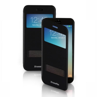 XtremeMac iPhone 6S WINDOW BOOK CASE - Black
