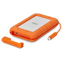Lacie 4TB Rugged Thunderbolt & USB 3.1 Type C w integrated cable