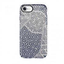 Speck iPhone 7 Presidio Inked Shiboritile Blue Matte/Marine Blue