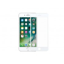 DEVIA Full Screen Glass Protector for iPhone 7+ - White