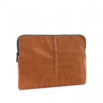 Decoded Leather Slim Sleeve 12-inch - Brown