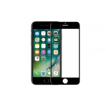DEVIA Full Screen Glass Protector for iPhone 7 - Black