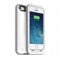 Mophie - Juice Pack Plus Rechargeable Battery Case for iPhone5/5S - White [2396_JPP-IP5-WHT-I]