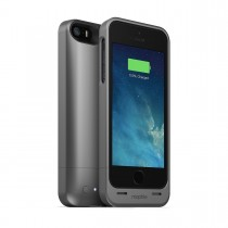Mophie - Juice Pack Helium Rechargeable Battery Case for iPhone 5/5s - Metallic Black