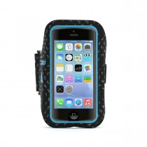 Griffin Armband Adidas Licensed for iPhone 5/5S/SE - Black/Solar Blue