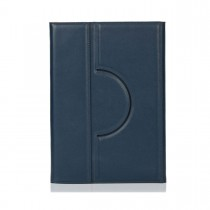 Knomo Premium Folio with moulded case iPad Air 2 - Airforce Blue