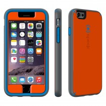 Speck MightyShell for iPhone 6/6S - Carrot orange/ Speck blue/ Slate grey
