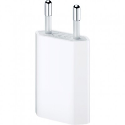 Захранващ адаптер Apple USB power Adapter - 5W, европейски стандарт