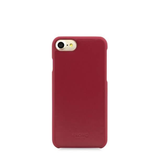 Червен кейс Snap On от Knomo за смартфон Apple iPhone 7