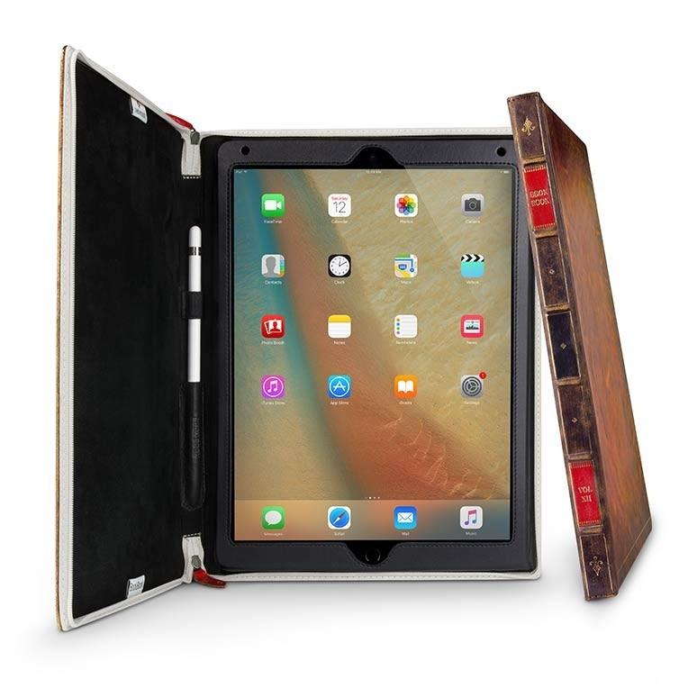 Кожен калъф BookBook от TwelveSouth за таблет Apple iPad Pro 12,9'' с дизайн във формата на книга
