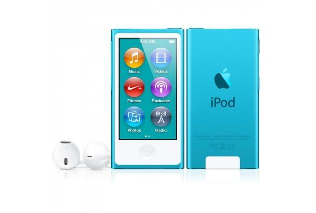 Apple iPod nano плейър 16 GB (2012) - син цвят